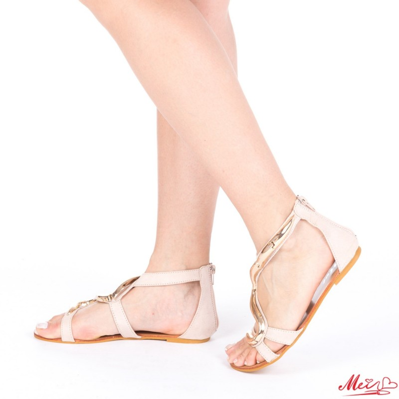 Sandale Dama HL303 Apricot Mei