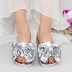 Papuci Dama WS120 Silver Mei