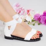 Sandale Dama QZL230 White Mei