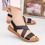 Sandale Dama cu Platforma WS103 Black Mei