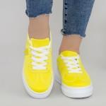 Pantofi Sport Dama XC9 Yellow Mei