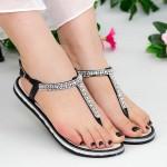 Sandale WS125 Black-Silver Mei