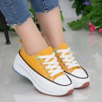 Pantofi Sport Dama cu Platforma XC2 Yellow Mei