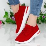 Pantofi Sport Dama KDN1 Red Mei