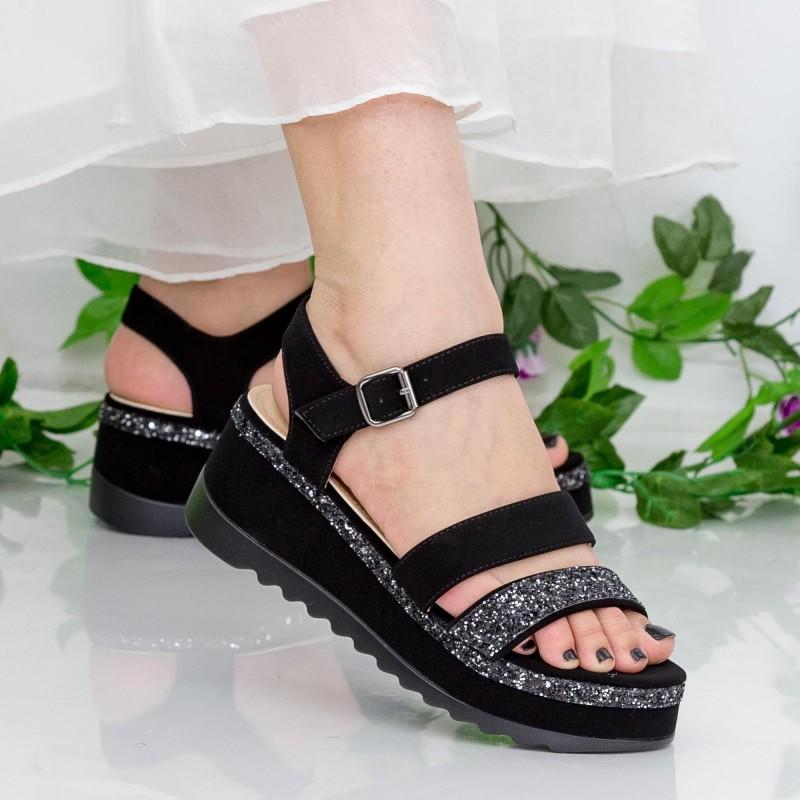 Sandale Dama cu Platforma LM256 Guncolor Mei