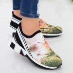 Pantofi Sport Dama TF5 White Mei