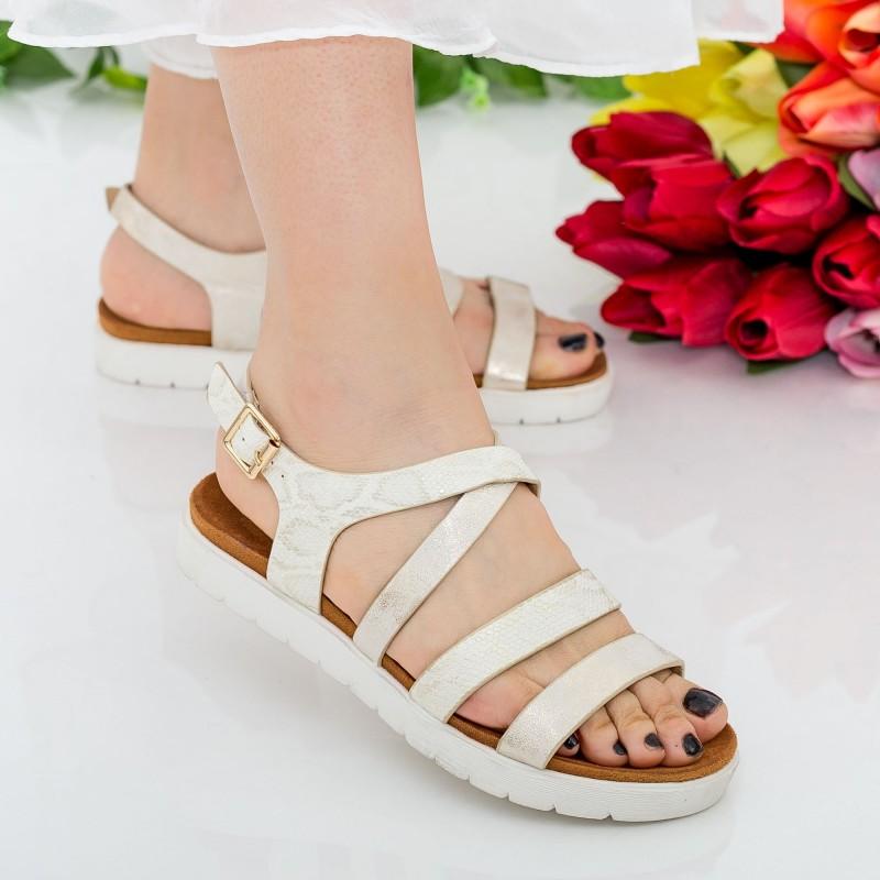Sandale Dama WT21 Gold Mei