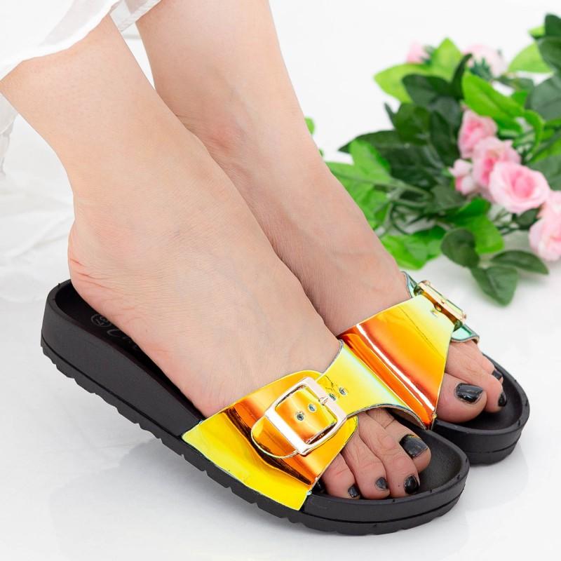 Papuci Dama WS127 Black Mei