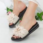 Papuci Dama YH6685 Beige Sport Fashion