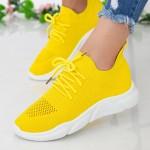 Pantofi Sport Dama HMM6 Yellow Mei