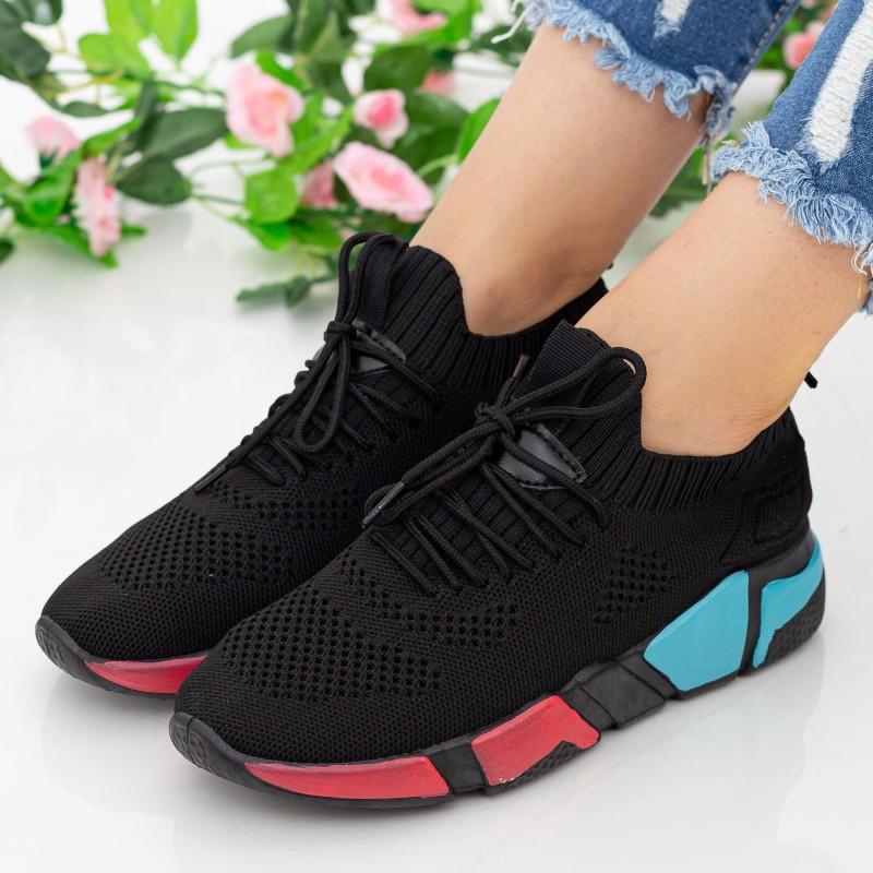 Pantofi Sport Dama HMM9 Black Mei