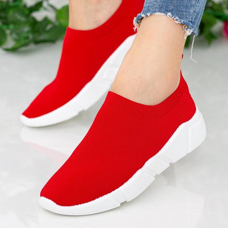 Pantofi Sport Dama J-6 PSD Red Se7en