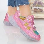 Pantofi Sport Dama X612 Pink Se7en