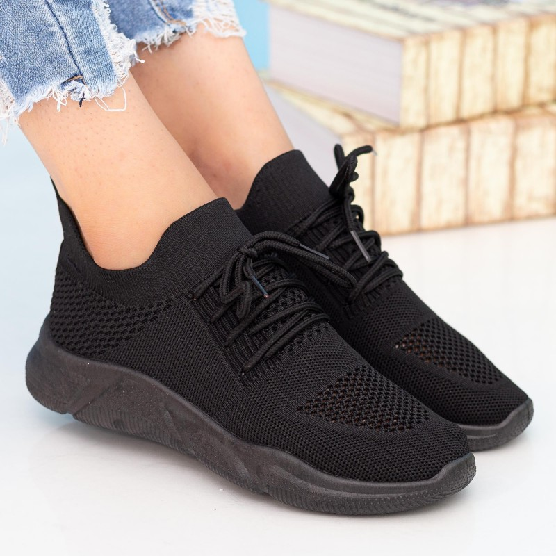 Pantofi Sport Dama HMM6A All-Black Mei