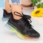 Pantofi Sport Dama YKQ193A Black Mei