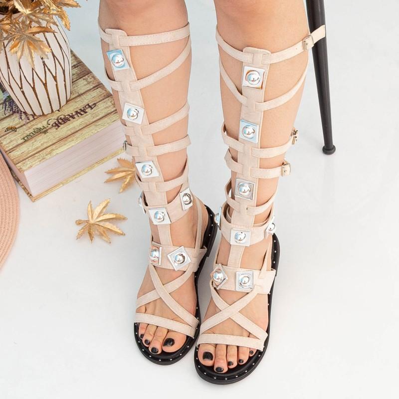 Sandale Dama Gladiator QZL252X Pink Mei