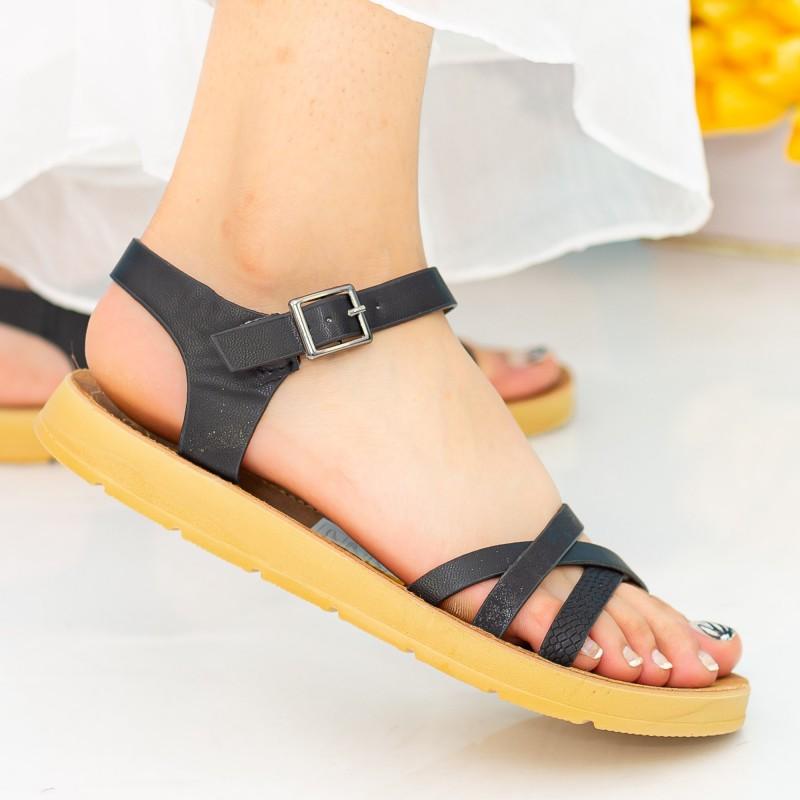 Sandale Dama WS108 Black Mei