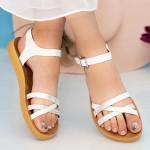 Sandale Dama WS108 White Mei