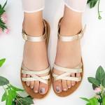 Sandale Dama WS108 Beige Mei