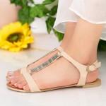 Sandale Dama LM50 Beige Mei