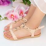 Sandale Dama LM220 Beige Mei