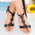 Sandale Dama LM223 Black Mei