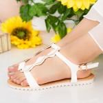 Sandale Dama LM223 White Mei