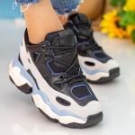 Pantofi Sport Dama cu Platforma CJL12 Black Mei