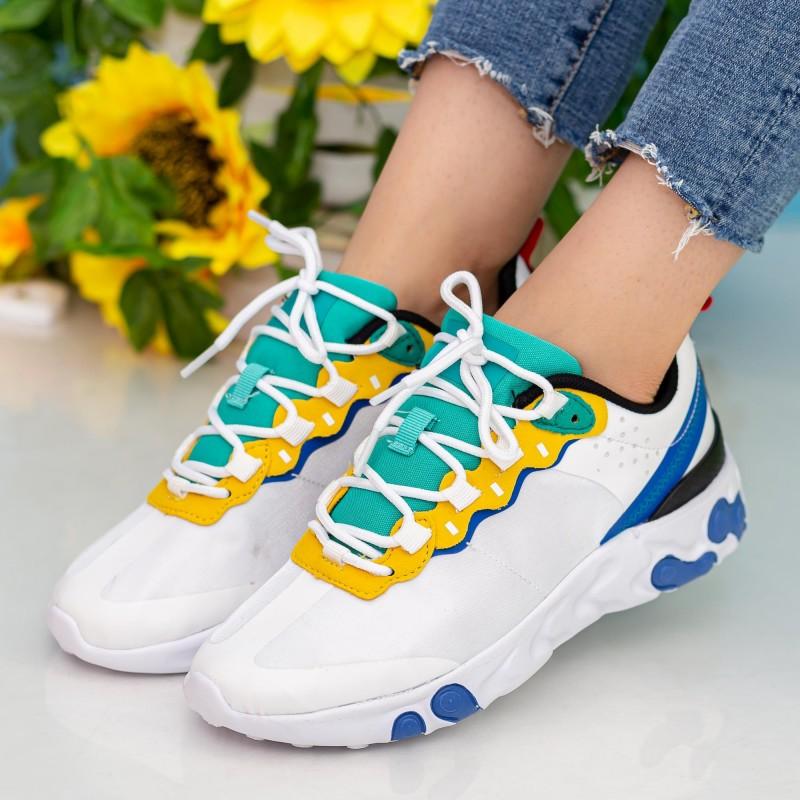 Pantofi Sport Dama OJ1 White Mei