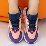Pantofi Sport Dama OJ2 Pink-Navy Mei