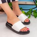 Papuci Dama TJ1 White Mei