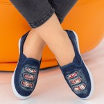 Espadrile Dama H889 Navy Fashion