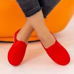 Espadrile Dama H12 Red Fashion