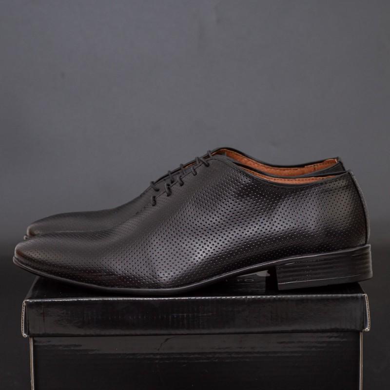Pantofi Barbati PB026 Black Mei