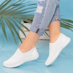 Pantofi Sport Dama MD8816 White Alina