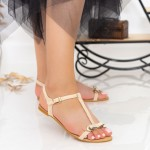 Sandale Dama HG56 Beige Mei