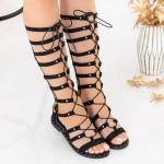 Sandale Dama QZL238 Black Mei