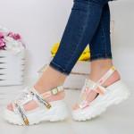 Sandale Dama cu Platforma LT179 Pink Mei