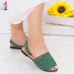 Sandale Dama Y603 Green Mei