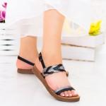 Sandale Dama CS36 Black Mei