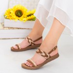 Sandale Dama CS36 Brown Mei