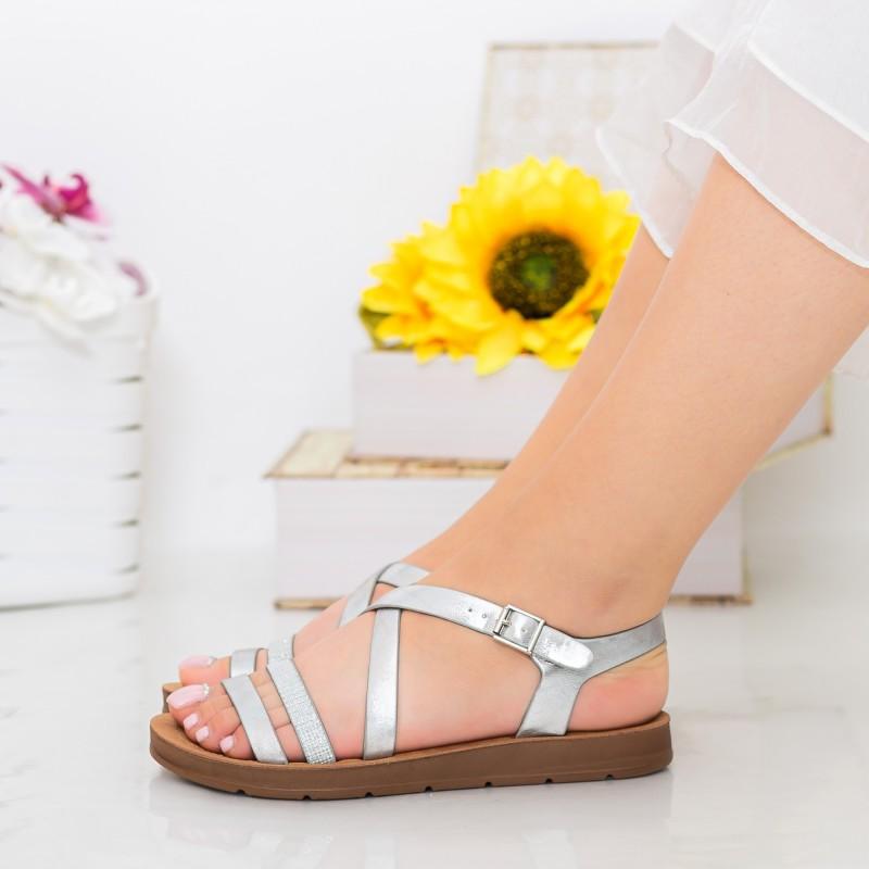 Sandale Dama CS38 Silver Mei