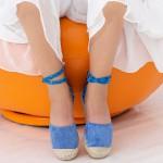 Sandale Dama HJ2 Blue Mei