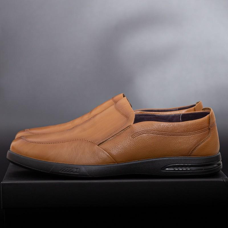 Pantofi Barbati 99106 Light Brown Mei