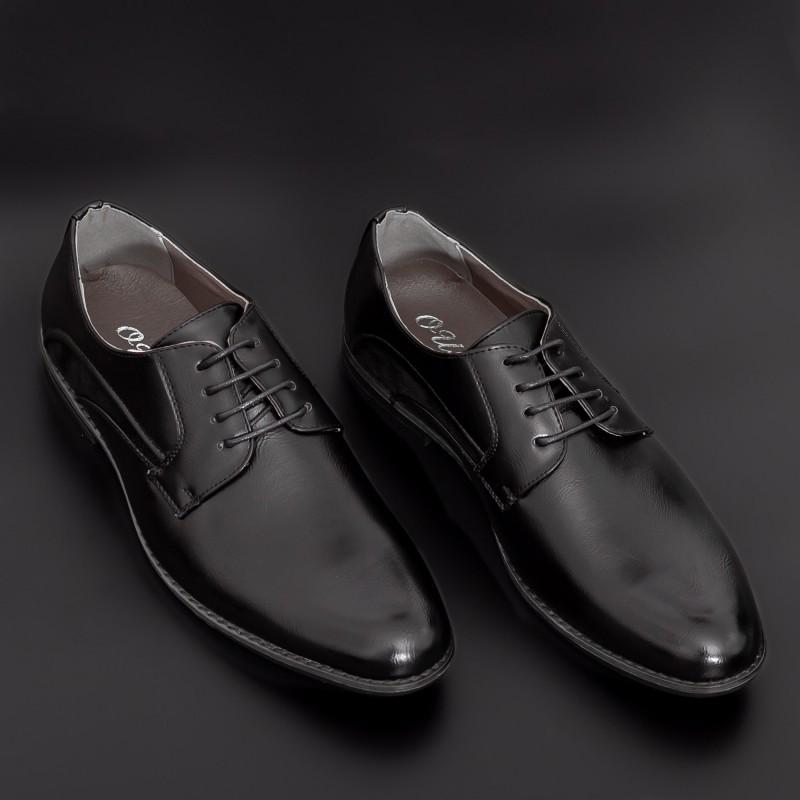 Pantofi Barbati 659 Black Mei