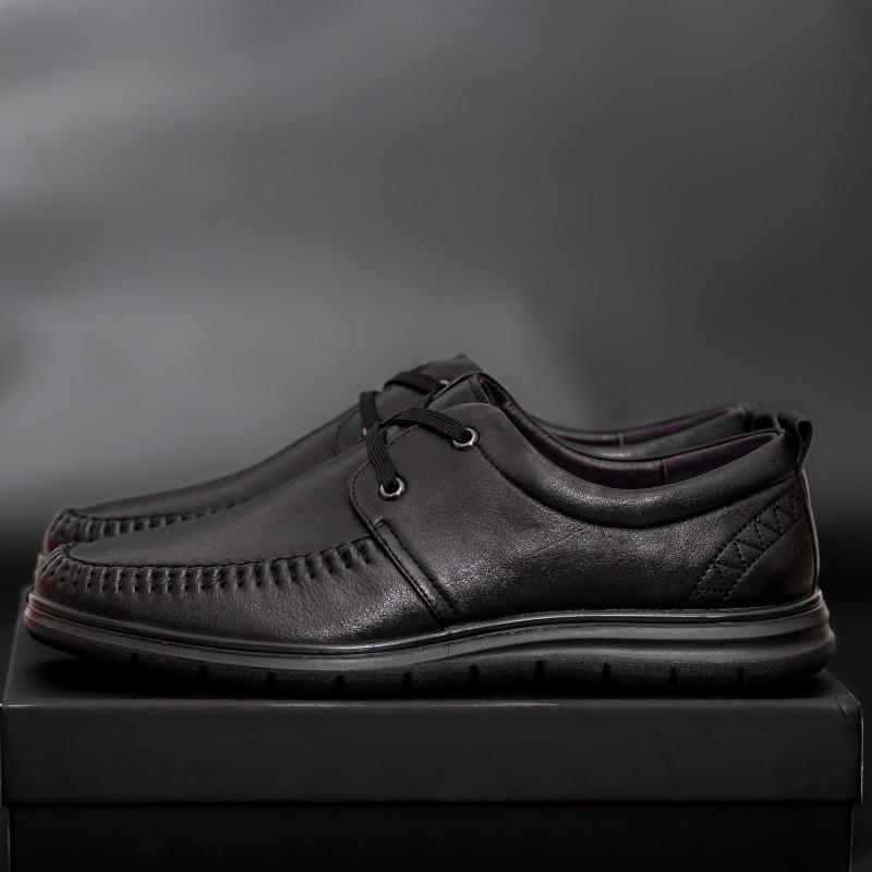 Pantofi Barbati WD7729N Black Mei