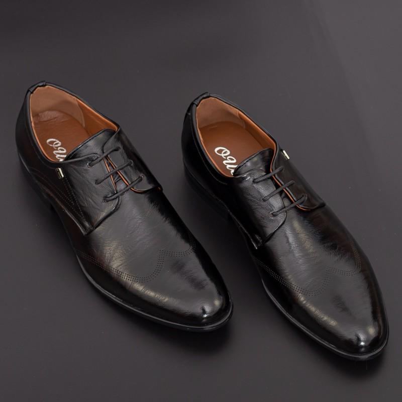 Pantofi Barbati 635 Black Mei