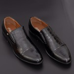Pantofi Barbati 638 Black Mei