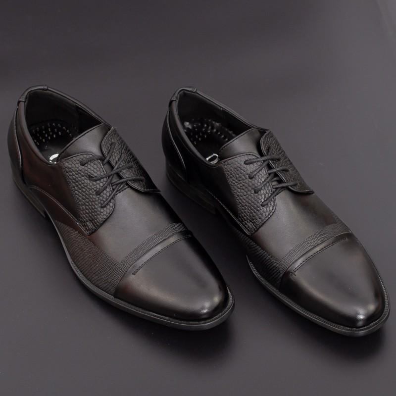 Pantofi Barbati A608-1# Black Mei