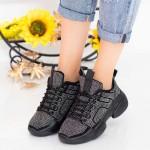 Pantofi Sport Dama cu Platforma LGYED5 Guncolor Mei